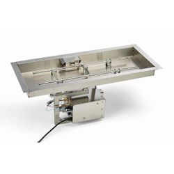 HPC EI Series Rectangle H-Burner Bowl Insert - 36x14