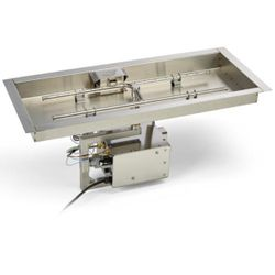 HPC EI Series Rectangle H-Burner Bowl Insert - 78x16