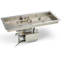 HPC EI Series Rectangle H-Burner Bowl Insert - 90x16