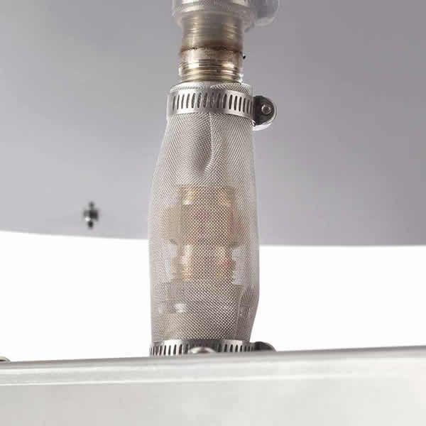 "HPC EI Series Square Penta Burner Flat Insert - 18"" image number 1"