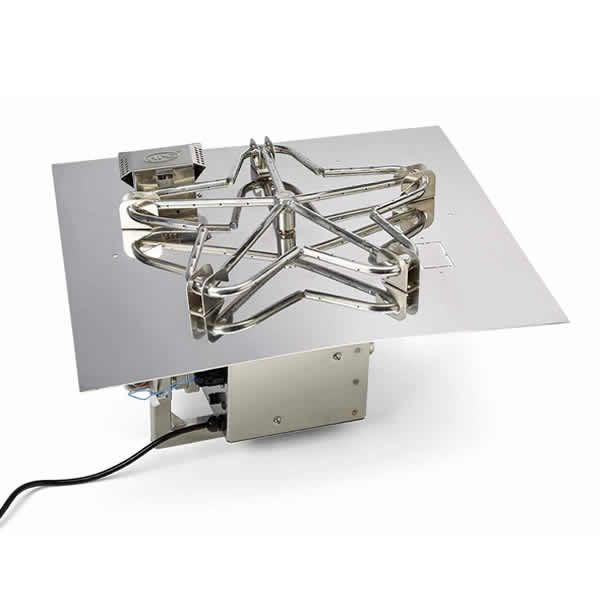 "HPC EI Series Square Penta Burner Flat Insert - 18"" image number 0"