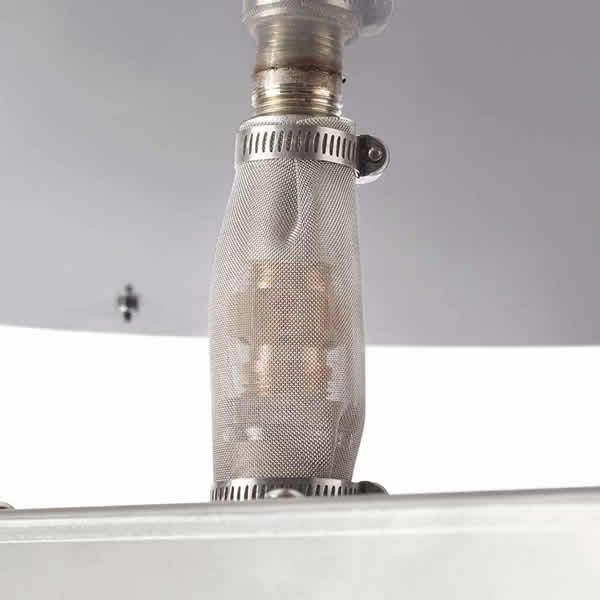 "HPC EI Series Square Penta Burner Flat Insert - 24"" image number 1"