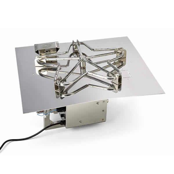 "HPC EI Series Square Penta Burner Flat Insert - 24"" image number 0"