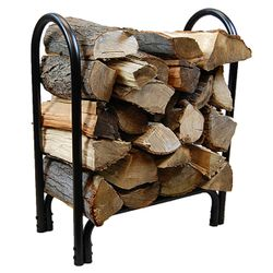 HY-C 2ft Black Log Rack