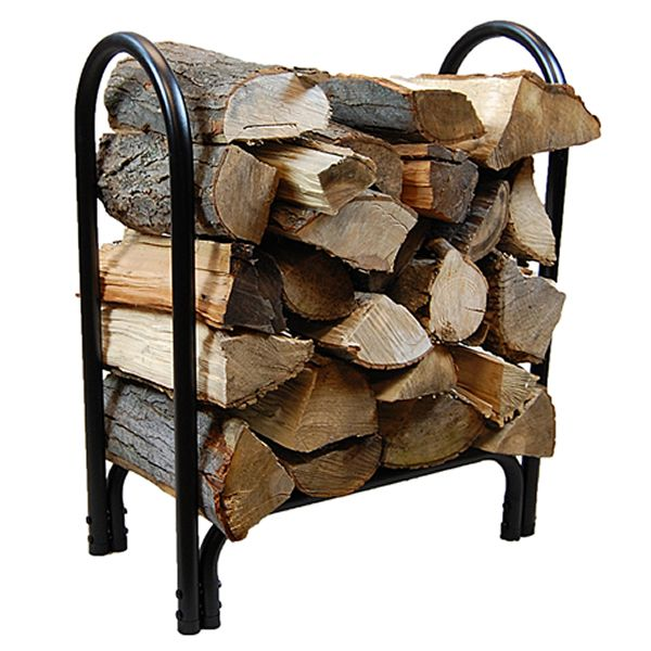 HY-C 2ft Black Log Rack image number 0