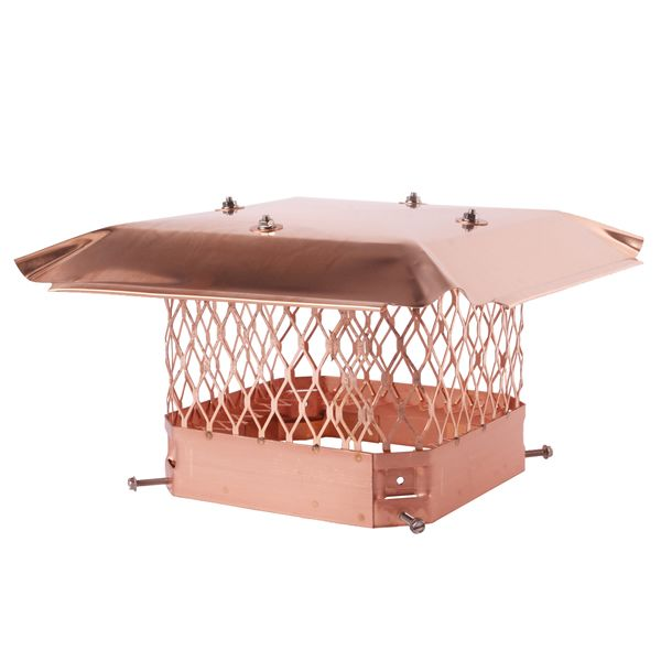 HY-C Draft King Copper Chimney Cap image number 0