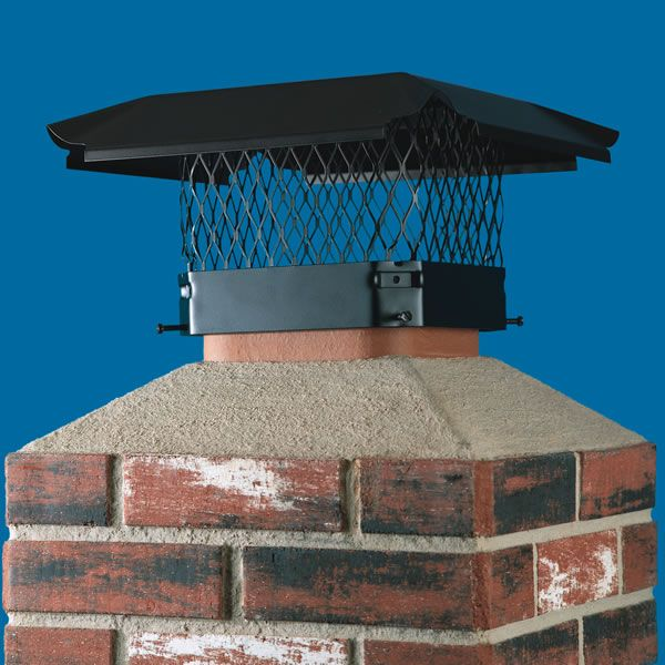 HY-C Draft King Galvanized Steel Square Chimney Cap image number 1