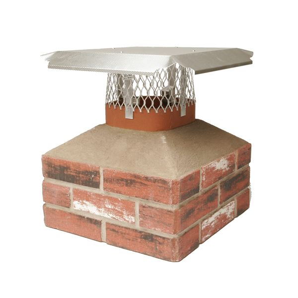 HY-C Duro-Shield Aluminum Chimney Cap image number 0