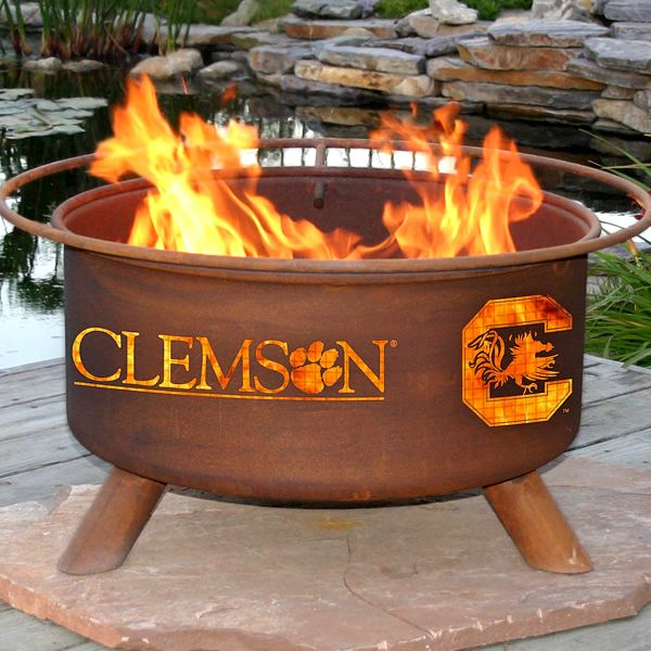 House Divided Multiple School Fire Pit image number 0