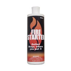 HomeSaver Gel Firestarter, 32oz. Bottle (case of 12)