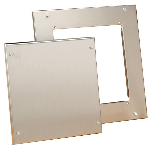 """HomeSaver Stainless Access Door - 8""""x8"""" image number 0"""