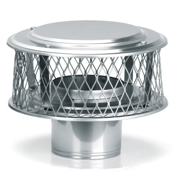 "HomeSaver Guardian 304 Stainless Steel (3/4"" Mesh) Chimney Cap image number 0"