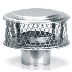 "HomeSaver Guardian 304 Stainless Steel (3/4"" Mesh) Chimney Cap"
