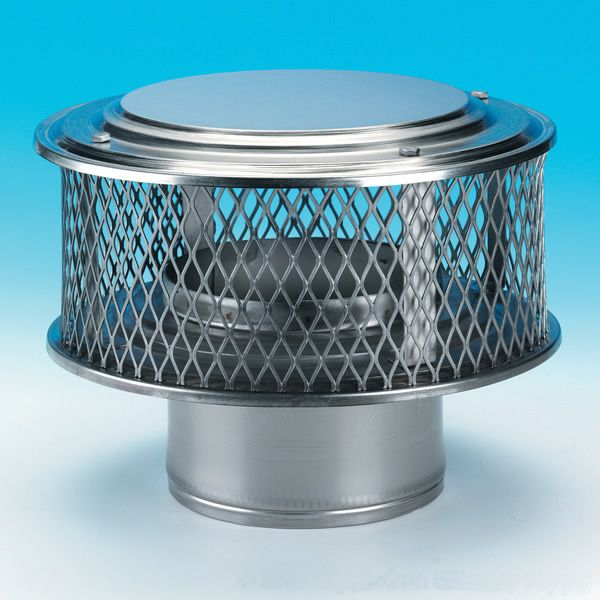 "HomeSaver Guardian 304 Stainless Steel (5/8"" Mesh) Chimney Cap image number 0"
