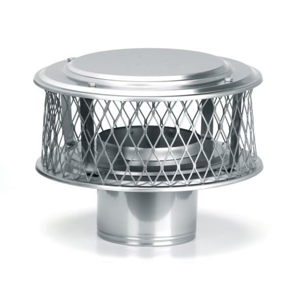 "HomeSaver Guardian 316 Stainless Steel (3/4"" Mesh) Chimney Cap image number 0"