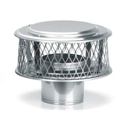"HomeSaver Guardian 316 Stainless Steel (3/4"" Mesh) Chimney Cap"