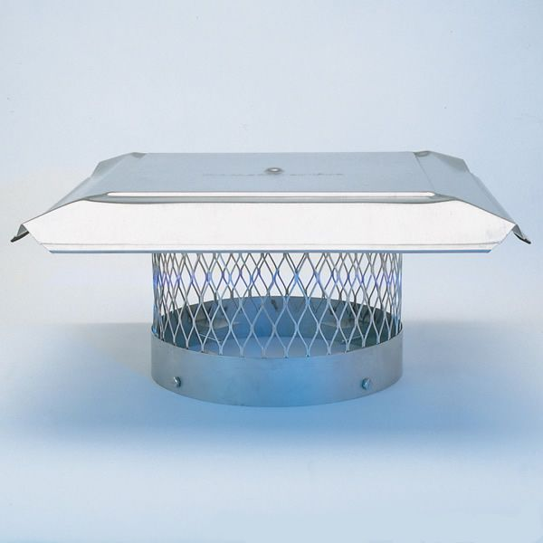 HomeSaver Pro Stainless Steel Round Chimney Cap image number 0