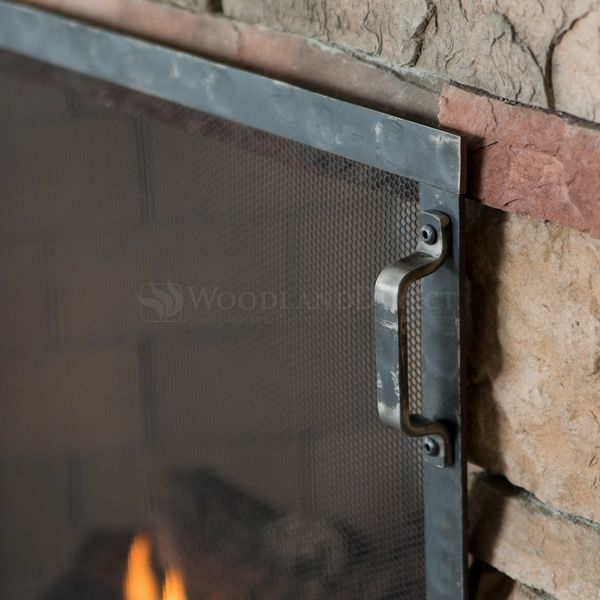 Hammered Fireplace Screen image number 2