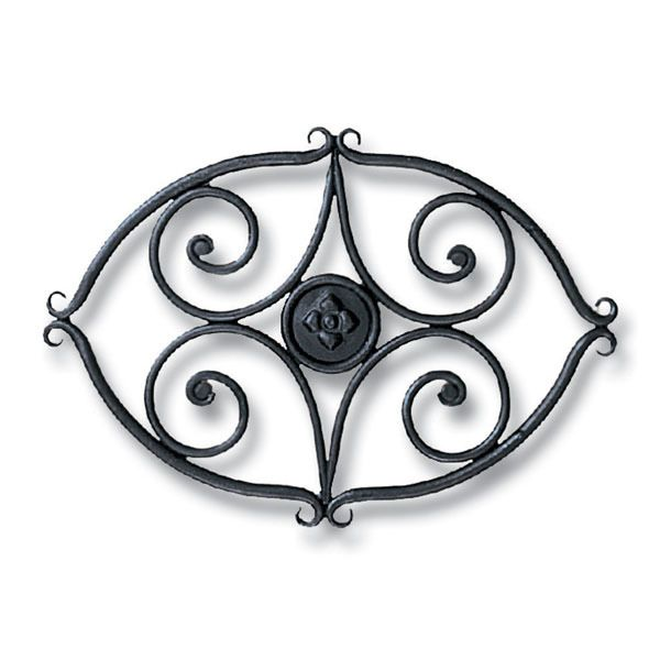Handforged Wrought Iron Wood Stove Trivet image number 0