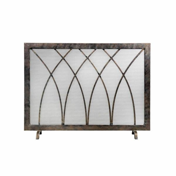 Hansel Steel Fireplace Screen image number 0