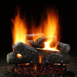 Hargrove Classic Oak See Through Vented Gas Log Set