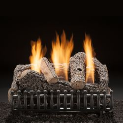 Hargrove Classic Oak Ventless Gas Log Set