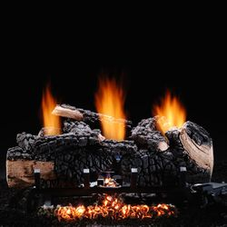 Hargrove Cumberland Char Ventless Gas Log Set