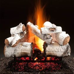 Hargrove Aspen Timbers See-Through Vented Gas Log Set