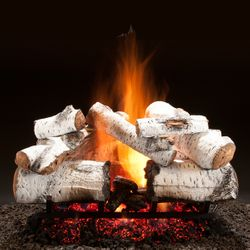 Hargrove Aspen Timbers Vented Radiant Gas Log Set