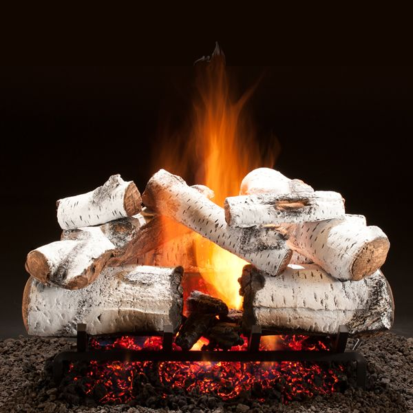 Hargrove Aspen Timbers Vented Radiant Gas Log Set image number 0