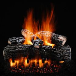 Hargrove Blazing Pecan Vented Gas Log Set