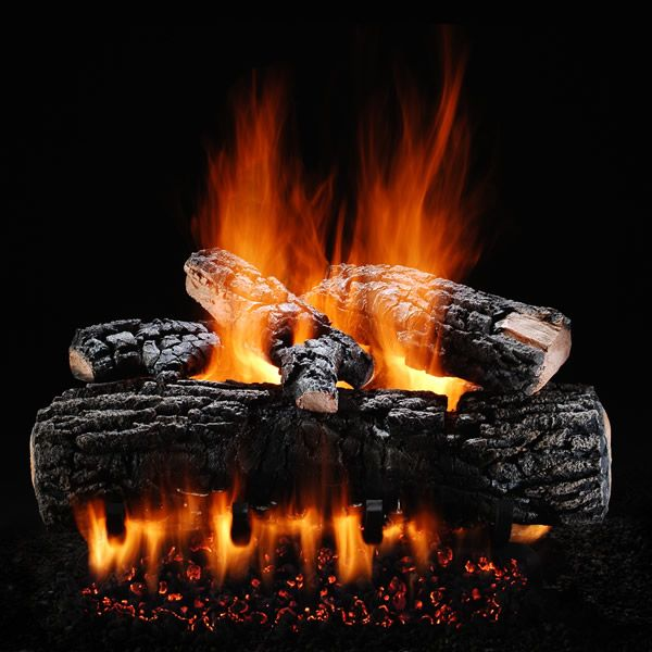 Hargrove Blazing Pecan Vented Gas Log Set image number 0