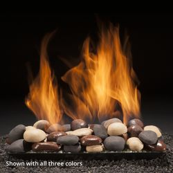 Hargrove Blazing River Vented Fireplace Stone Set