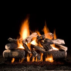 Hargrove Kodiak Char Double Stack Vented Gas Log Set