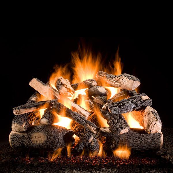 Hargrove Kodiak Char Triple Stack Vented Gas Log Set image number 0