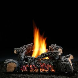 Hargrove Highland Glow Ventless Gas Log Set