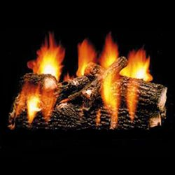 Hargrove Oak Full Pan Vented Gas Log Set