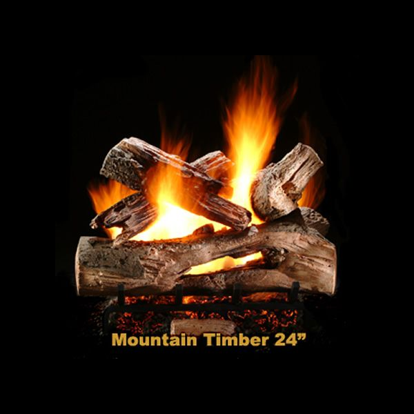 Hargrove Mountain Timber Vented Gas Log Set image number 1