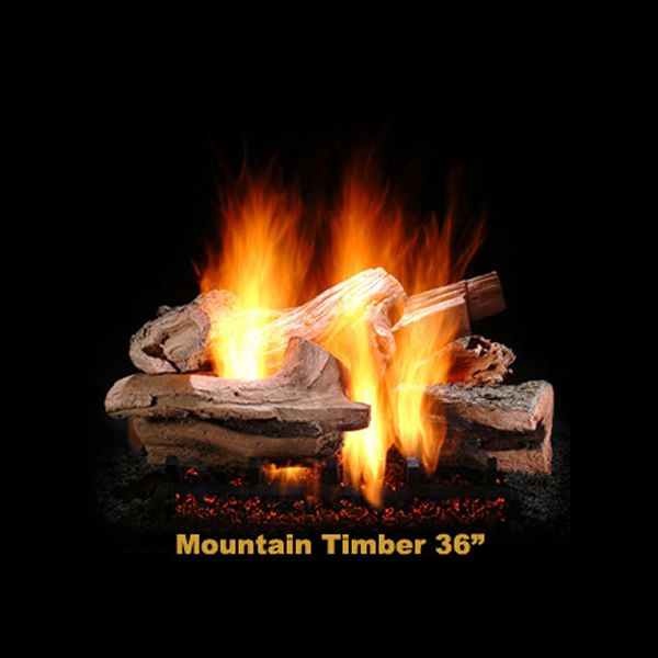 Hargrove Mountain Timber Vented Gas Log Set image number 2