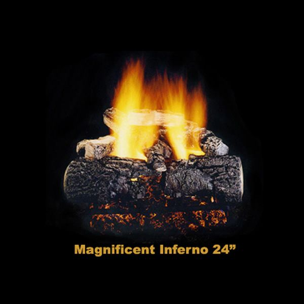 Hargrove Magnificent Inferno Vented Gas Log Set image number 1