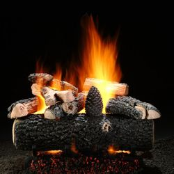 Hargrove Select See Through Vented Gas Log Set