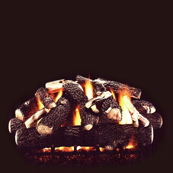 Hargrove Summit Oak Vented Gas Log Set image number 0