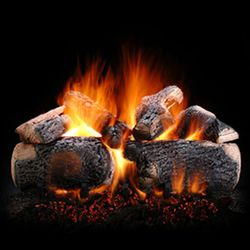 Hargrove Supreme Ponderosa See Through Vented Gas Log Set