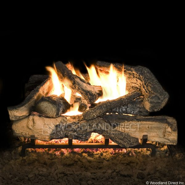 Hargrove Rustic Timbers Vented Radiant Gas Log Set image number 0