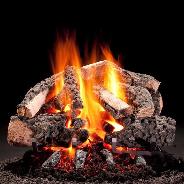 Hargrove Woodland Timbers Vented Radiant Gas Log Set image number 0