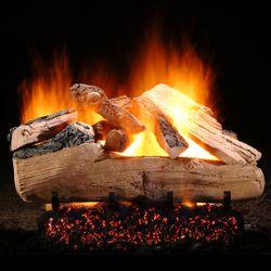 Hargrove Western Pine Full Pan Vented Gas Log Set