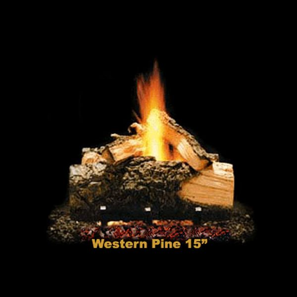 Hargrove Western Pine Vented Gas Log Set image number 1