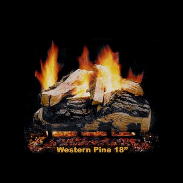 Hargrove Western Pine Vented Gas Log Set image number 2
