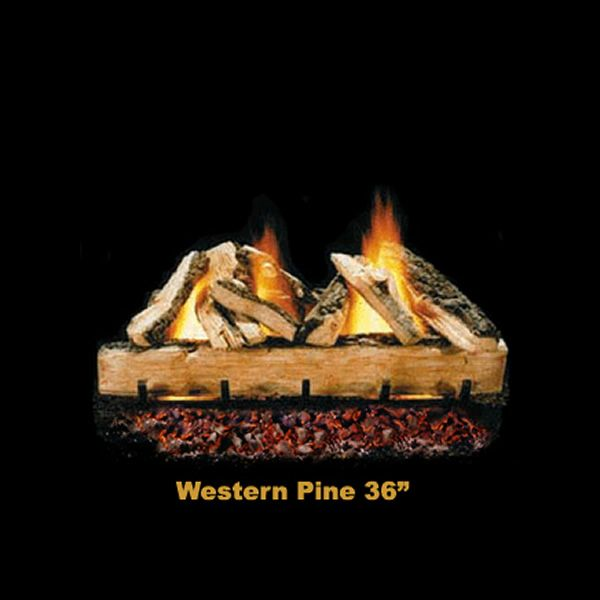 Hargrove Western Pine Vented Gas Log Set image number 5