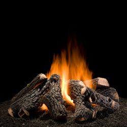 Hargrove Wilderness Oak Outdoor Gas Log Set